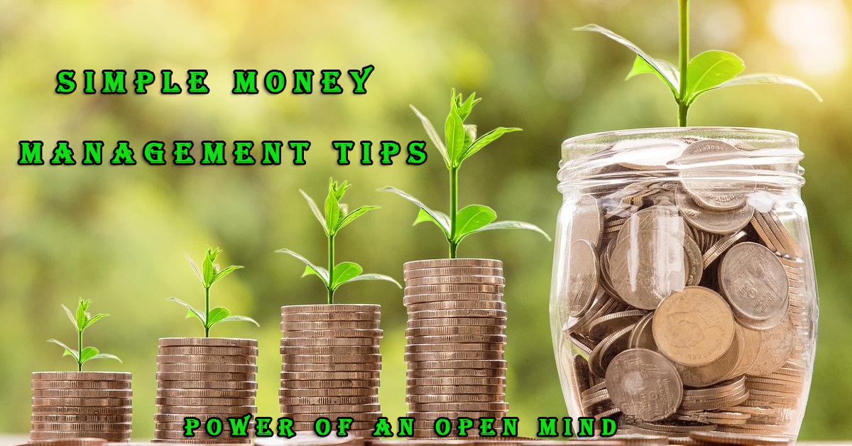 simple money management tips