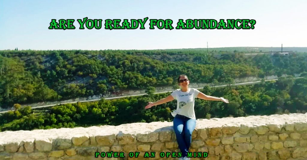Are you ready for abundance
